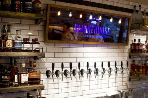Smokehouse BBQ restaurant and craft beer bar, Harajuku, Tokyo
