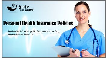Personal health insurance products protects you and your medical bills as a result of an illness or accident. Buying a personal health insurance plan ensures that health is secured and medical expenses are covered across a wide network of hospitals in USA. Compare health plans and find the coverage that is right for you.