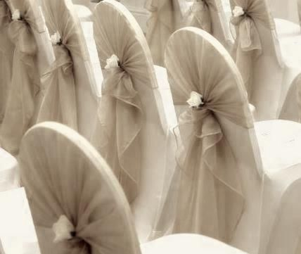 North East Vintage Weddings -Timeless - Chair Covers                                                                                                                                                                                 More