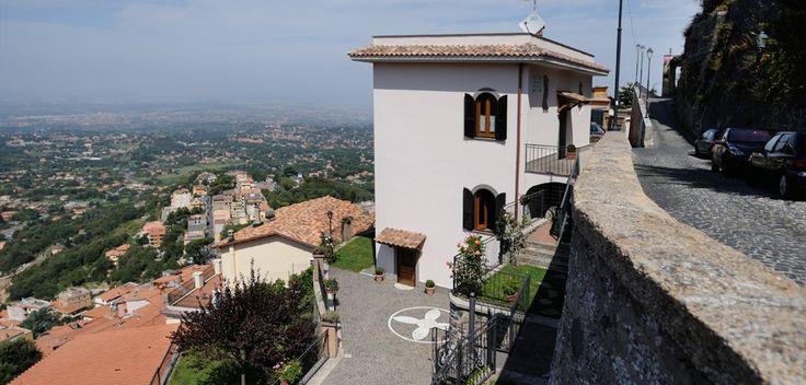 Casa dei Fantasmi, Panorama Rocca di Papa, Vista Roma, Via dell'Osservatorio