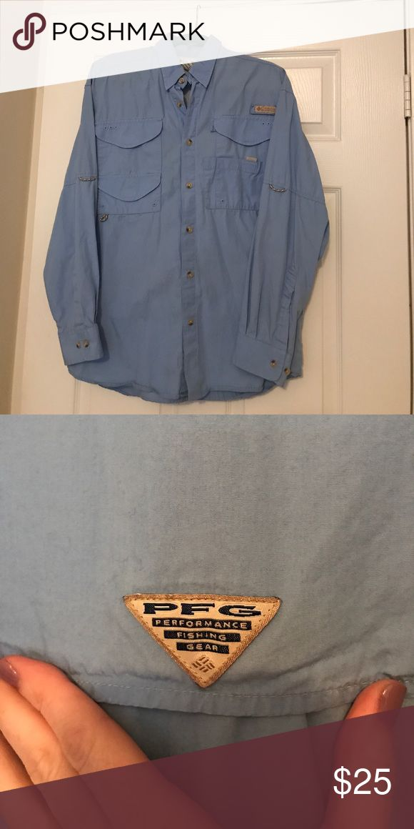 Men's PFG long sleeve Men's long sleeve pfg shirt. Excellent condition. Perfect for fishing or just keeping cool on the beach. Shirts Tees - Long Sleeve