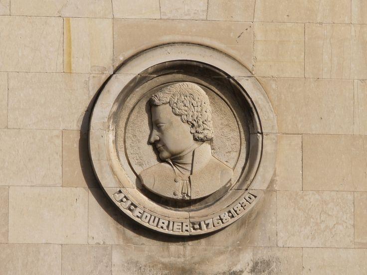 Joseph Fourier en médaillon