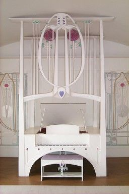 Charles Rennie Mackintosh piano