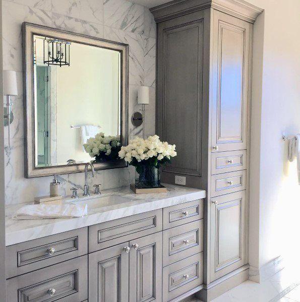 44++ Bathroom vanity cabinet with top inspiration