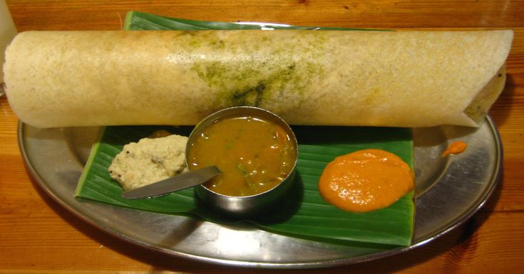 Dosa , also called Chatamari in Newari, is a fermented crepe or pancake made from rice batter and black lentils. This staple dish is widely popular in all southern Indian states Karnataka, Andhra Pradesh, Tamil Nadu and Kerala.