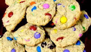 Biscuits magiques aux Smarties pour colorer la semaine de relâche