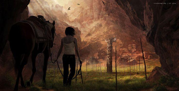 Beyond...Two Souls (Quantic Dream) Navajo 03 by djahal.deviantart.com on @deviantART