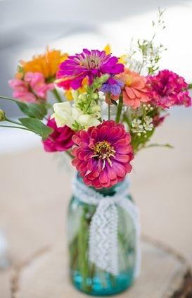 shabby chic, Summer, decor, flowers, wedding, centerpiece, Christiansburg, Virginia