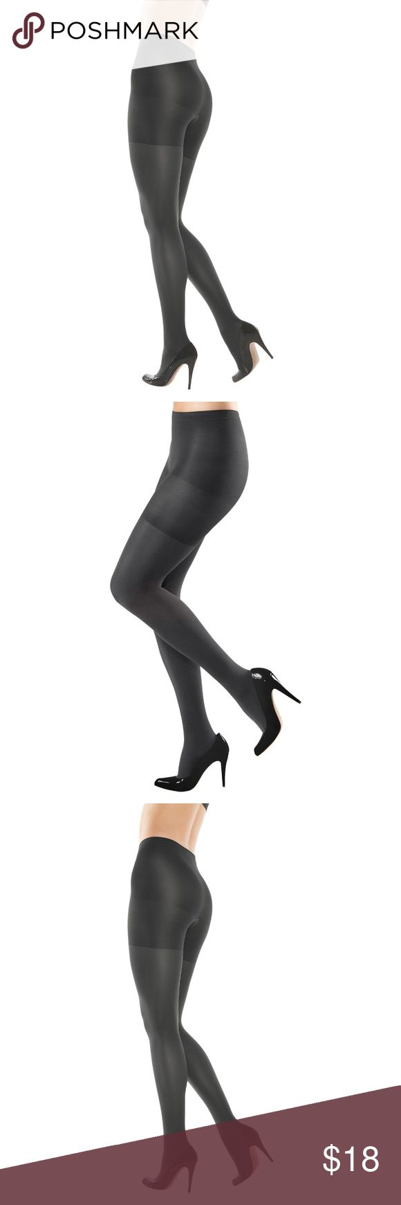 Black Spanx Women Tights Size 4 158B Slimming Women's Original Shaping Tights 158B  Size 4  Color: Black  Comfortable control: chick look on legs Long-lasting yarns contour to the body – no more sagging tights! So comfortable! Slims the tummy, hips, thighs & rear SPANX Accessories Hosiery & Socks