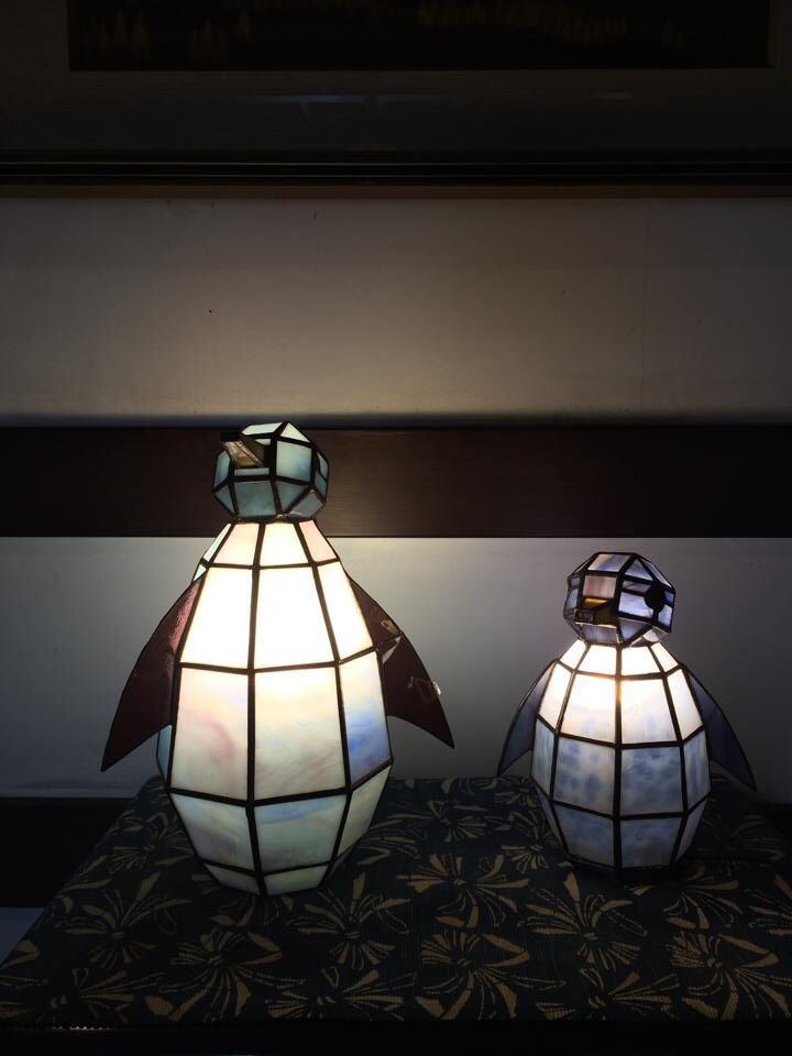 Penguin Lamps