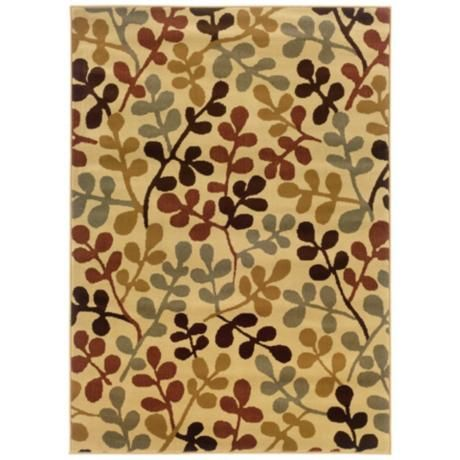 Riverwoods Collection Twigs Area Rug - #R0599 | LampsPlus.com
