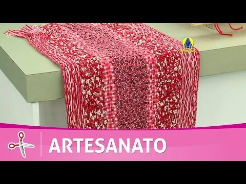 Vida com Arte | Tapete em tecido de tear por Márcia Ester - 17 de Agosto de 2016 - YouTube