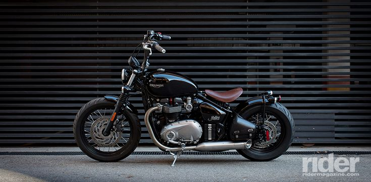 2017 Triumph Bobber First Ride Review | Rider Magazine