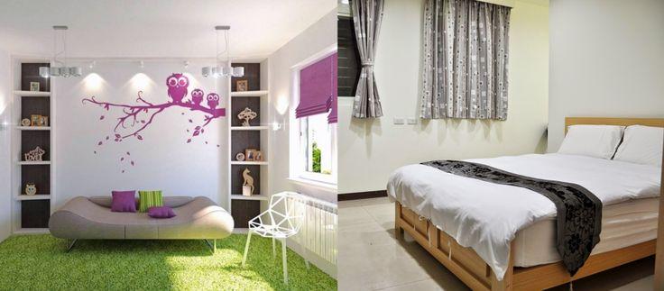 19) In welk interieur voel jij je thuis? - Ik zou het fijn vinden om in een interieur te zitten van een mix van deze twee afbeeldingen
