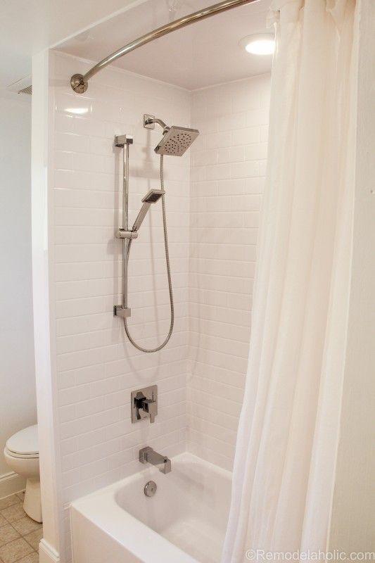 Bathroom shower tub refresh by Bath Fitters @remodelaholic (44 of 47)