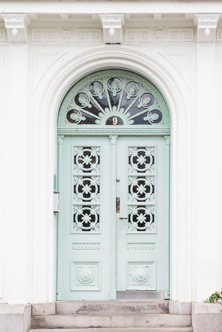 Beautiful door in the center of Gothenburg, Sweden - from travel blog…