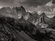 Photo by Peter Essick| ... as the Minarets rise above 12,000 feet in the Ansel Adams Wilderness