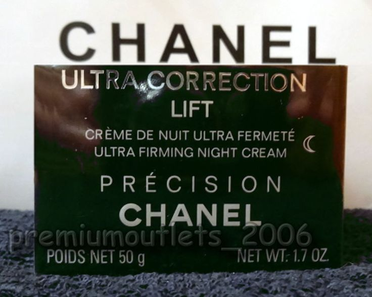CHANEL Precision Ultra Correction Lift Ultra Lifting Night Cream (50g/1.7oz)…