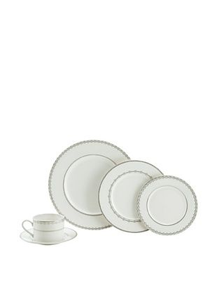 62% OFF Mikasa 5-Piece Floral Strand Place Setting, White