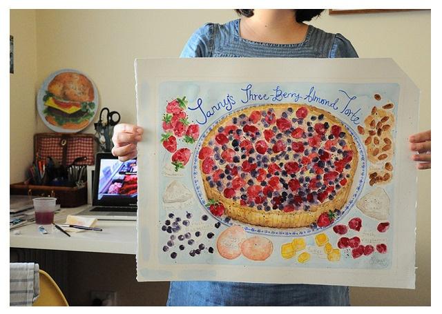 Custom painting — Handmadelove by Dawn Tan