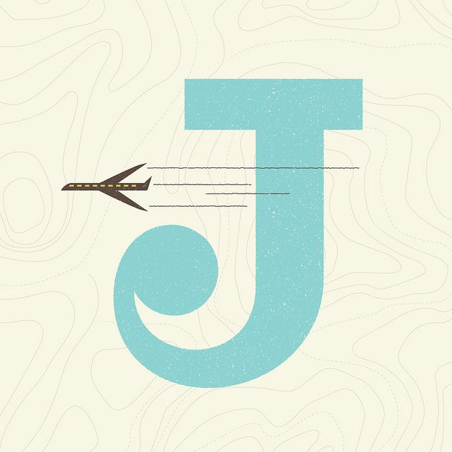 J is for Jet. by Wallace Design House