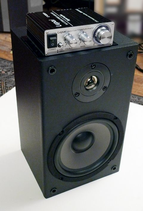 Build your own desktop stereo for under $70