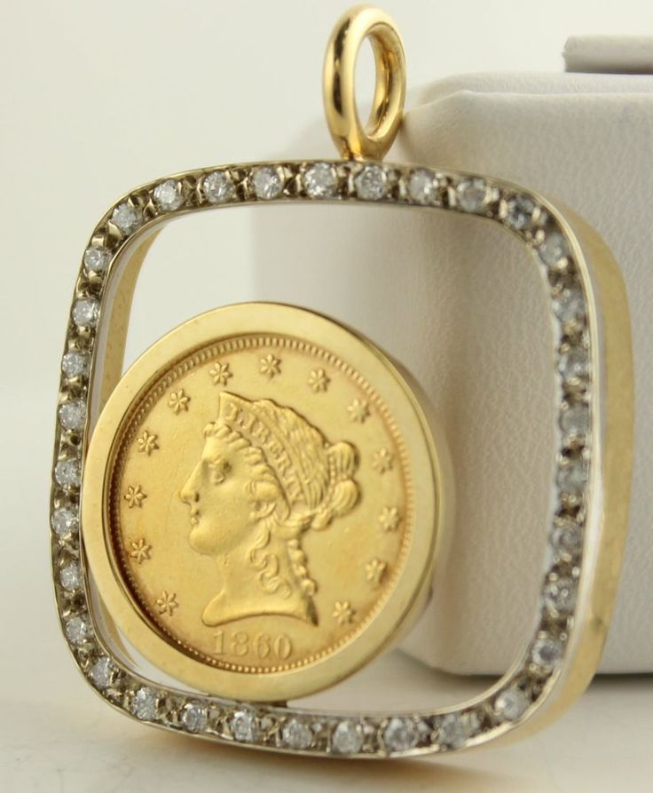 Brand-new 9 best ginni images on Pinterest | Gold coins, Coin pendant and Rings ML24