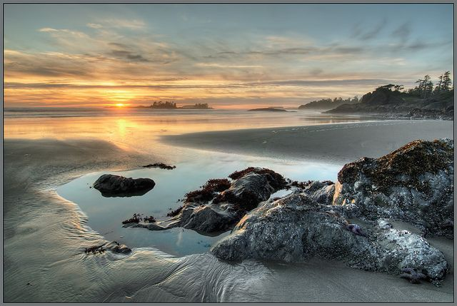 Rosie Bay Sunset, Pacific Rim National Park