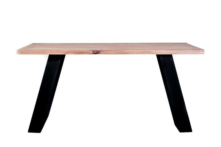 Alpha table  made of solid wood and steel #wooden #table #oaktable #interiordesign #dinningtable #dinningroom #designtable #solidwoodtable #oak #solidwood