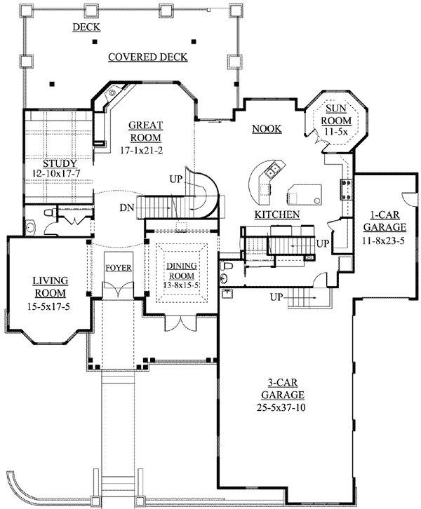 Best 20 traditional home plans ideas on pinterest for Home plans with sunrooms