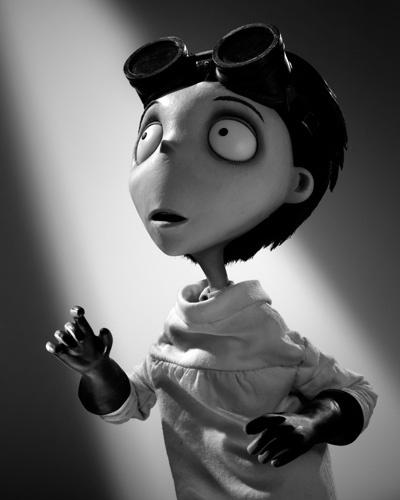 Los personajes de 'Frankenweenie' de Tim Burton