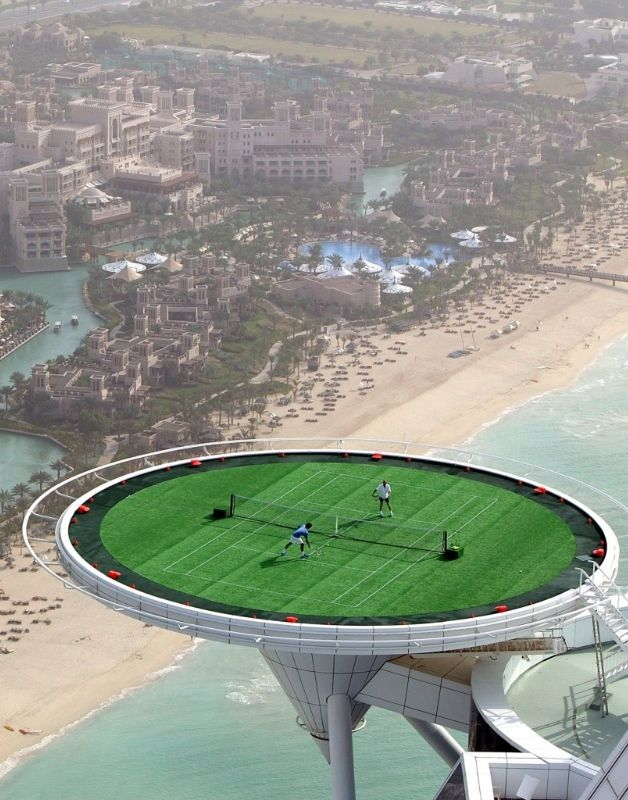 The Hotel 39 S Helipad Has Also Doubled As One Of The World 39 S