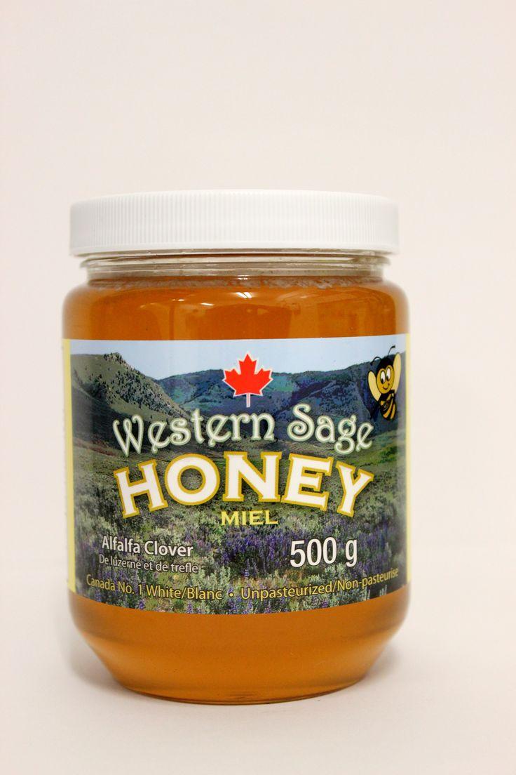 ALFALFA CLOVER LIQUID HONEY!!! Western Sage and KB Honey (aka Kidd Bros), ALFALFA CLOVER HONEY Ingredients:  100% Pure Canada No. 1 White Natural Honey #whitehoney #alfalfacloverhoney #alfalfaclover #natural #raw #nongmo #gmofree #glutenfree #kosher #koshercheckcertified #cfiaapproved #honey #healthfood #bclocal #localproducts #WesternSage #kiddbros #kbhoney #wshoney #straightfromthefarm #farmfresh #miraclefood #remedies #beeproducts #homeofglacierhoney #glacierhoney