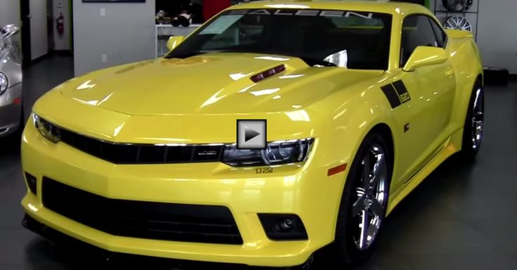 The 2014 Supercharged Camaro SS Saleen 620 Black Label. Double Click to See the Full Review