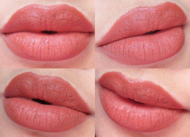 Lakme Absolute Lip Pout Matte Hot Cinnamon Review8 Beige