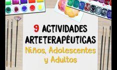 Video de youtube de 9 actividades de arteterapia para niños, adolescentes y adultos. Youtube, Activities, Art, Youtubers, Youtube Movies