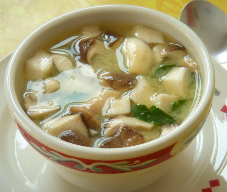 EASY Miso Soup: It's chilly today, a perfect day for Miso Soup! Heat ...