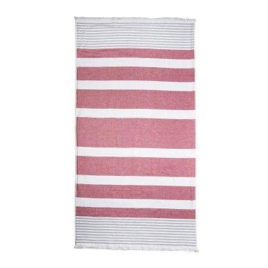 AUG 2014 - Studio W - Striped Cotton Bath Sheet - R250.00