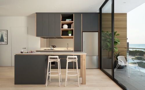 104 best keukens images on pinterest storage apartment design and