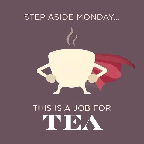 Yes. Sometimes a strong kick of tea gets the day started.