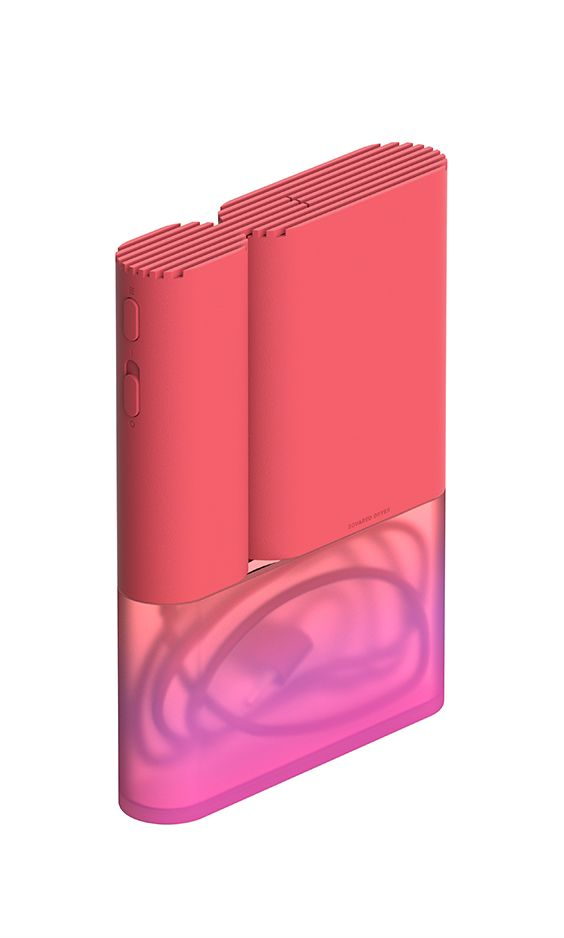 Squared Dryer / Hair Dryer / 2017 / Product Design / JiyounKim Studio / www.jiyounkim.com