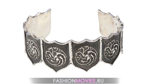 Браслет-манжет с гербом дома Таргариенов
