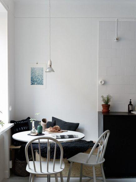 Gezellige Kleine Keuken : Meer dan 1000 idee?n over Kleine Eettafels op Pinterest – Kleine