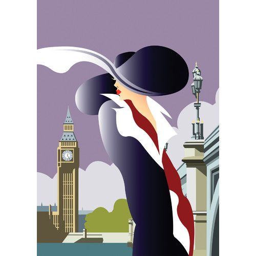 Found it at Wayfair.co.uk - London Art Deco by Dave Thompson Graphic Art