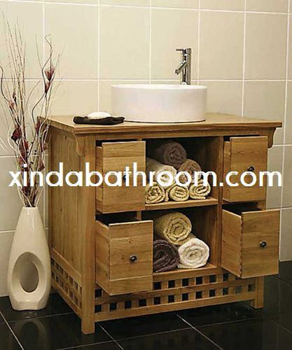 39 best wood bathroom vanity images on Pinterest Timber vanity
