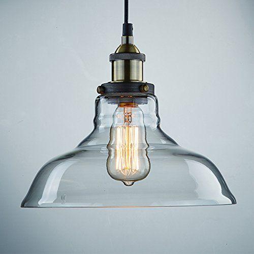 Ecopower Industrial Edison Vintage Style 1-Light Pendant Glass Hanging Light Ecopower Lighting http://smile.amazon.com/dp/B00ICXRTK6/ref=cm_sw_r_pi_dp_eqVkub04B1JTE
