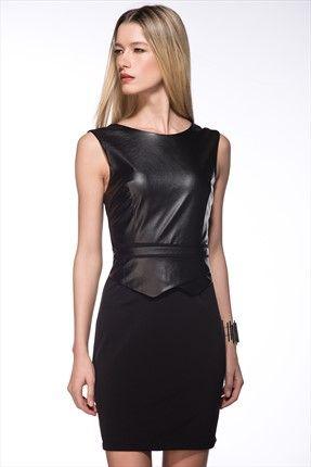 Siyah Elbise MLWAW154574