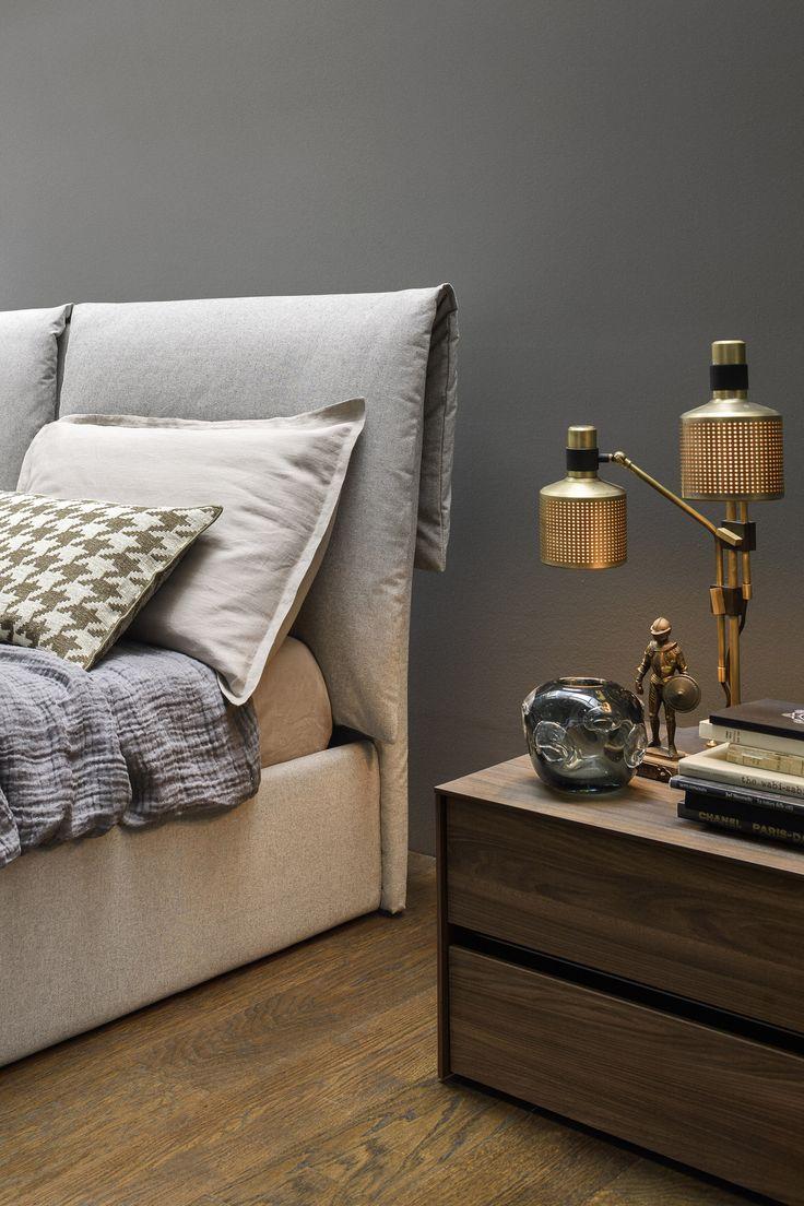 Ein Highlight Am Bett Novamobili Softy Ist Das Besonders Hohe Und Weiche  Kopfteil. #cosy