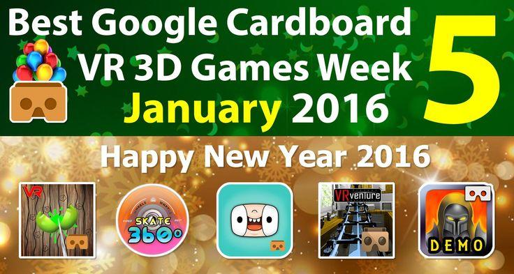 #VR #VRGames #Drone #Gaming Best Google Cardboard VR 3D Games Week 5 January 2016 - Android & iOS virtual reality, virtual reality games, virtual reality glasses, virtual reality headset, virtual reality toronto, virtual reality video, vr education, vr education apps, vr educational videos, vr games for android, vr games free, vr games ios, vr games online, vr games ps4, vr games steam, vr games toronto, vr learning apps, vr learning games, vr movies, vr movies app, vr movie
