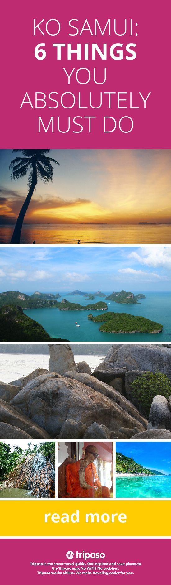 If you decide to wander farther than your hotel pool, here are 6 must do activities in Ko Samui, Thailand #KOSAMUI #THAILAND #PARADISE #WANDERFREELY